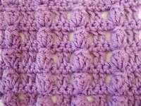Crochet popcorn stitch pattern