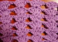Crocheting The Shell Stitch : crochet shell stitch go shell crazy