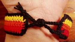 Easy thread bracelet pattern