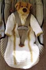 Baby Car Seat Sleepsuit Pattern