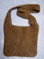 crochet felted wool bag