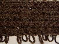 crochet loop stitch back