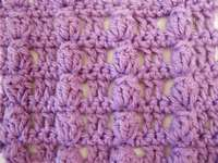 Crochet popcorn stitch pattern