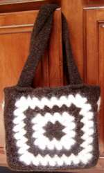 Easy Felted Purse