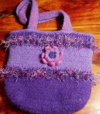 How to Felt a Crocheted Purse | Crochet/Knitting | YouCanMakeThis.com