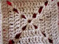 Granny square crochet stitches
