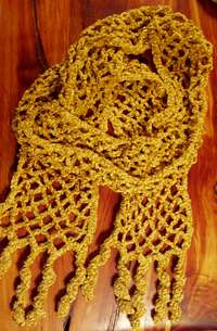 Crochet Keyhole Scarf Crochet Pattern | Red Heart