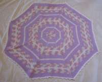 Octagon Baby Afghan Crochet Pattern : Octagon Baby Afghan - a different angle...