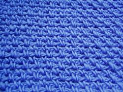 Alternate Single Crochet Square