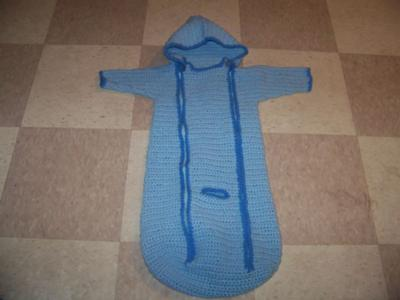 Baby Car Seat Sleepsuit