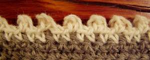 Crochet picot edging 1