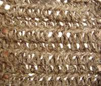 half double crochet stitch sample