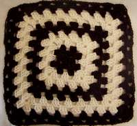 Large granny square